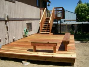 our handyman service builds new decks like this one in Union City